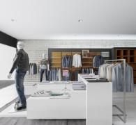 Магазин мужской одежды