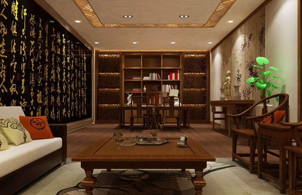 Chinese-Interior-Design-solid-wood-furniture