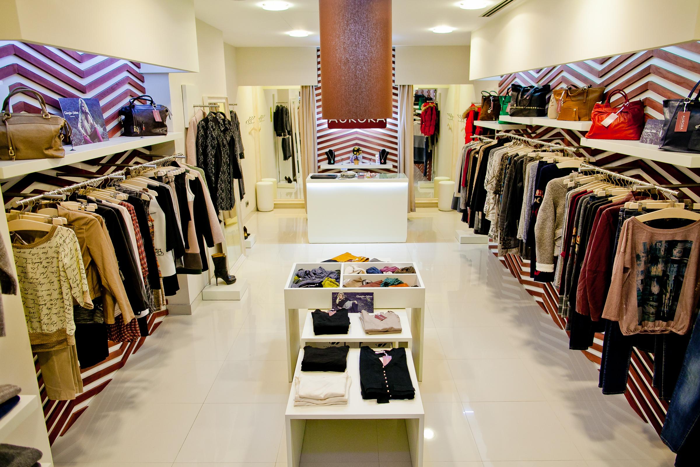 Дизайн-проект магазина одежды