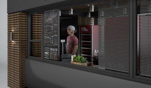 Проект павильона под кафе