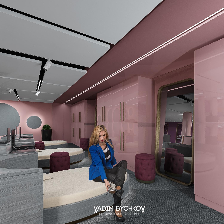 Женская комната Шоу дом 2