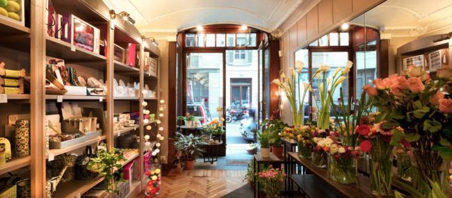 Цветы магазин дизайн