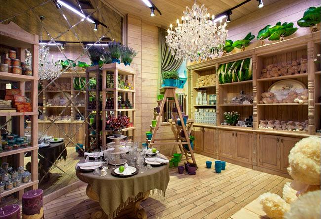 интерьера магазина флориста