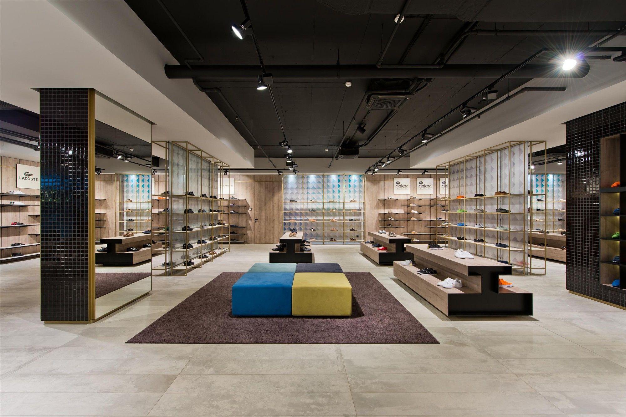 Дизайн магазина обуви